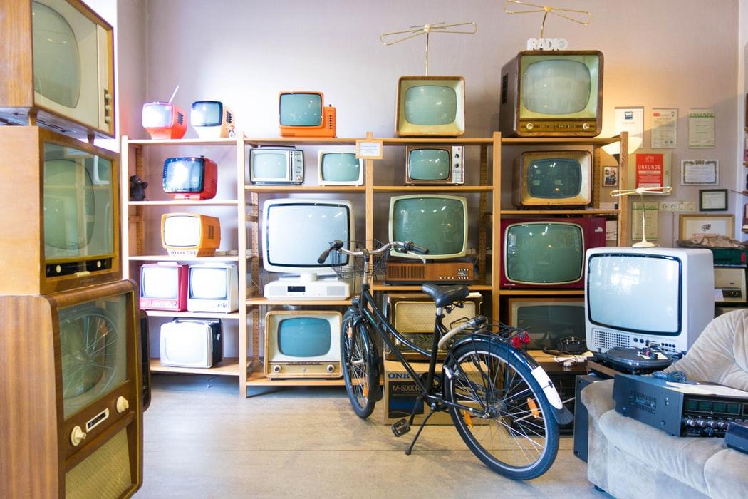 Phygital - old TV shop