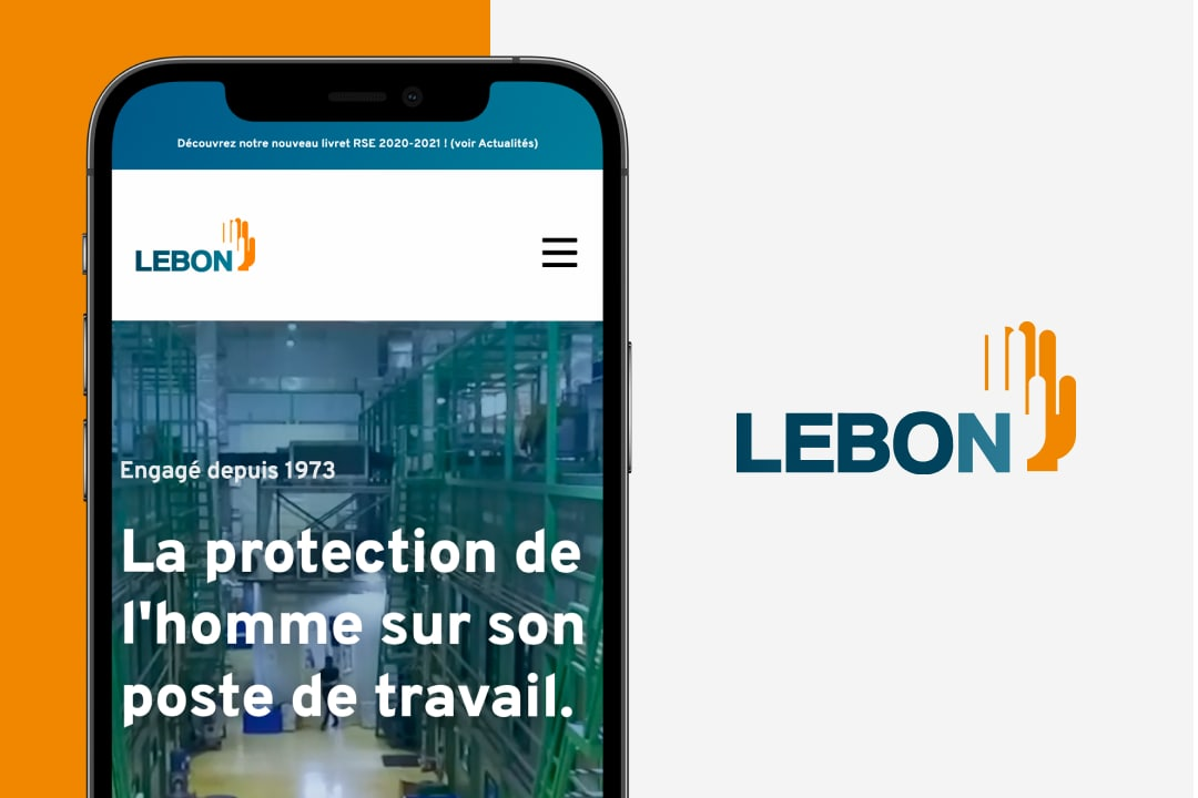 Refonte du site de Lebon protection