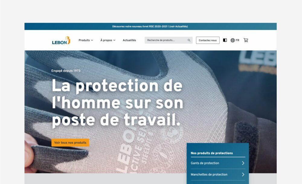 Lebon Protection confie à Silicon Salad la refonte de son site web