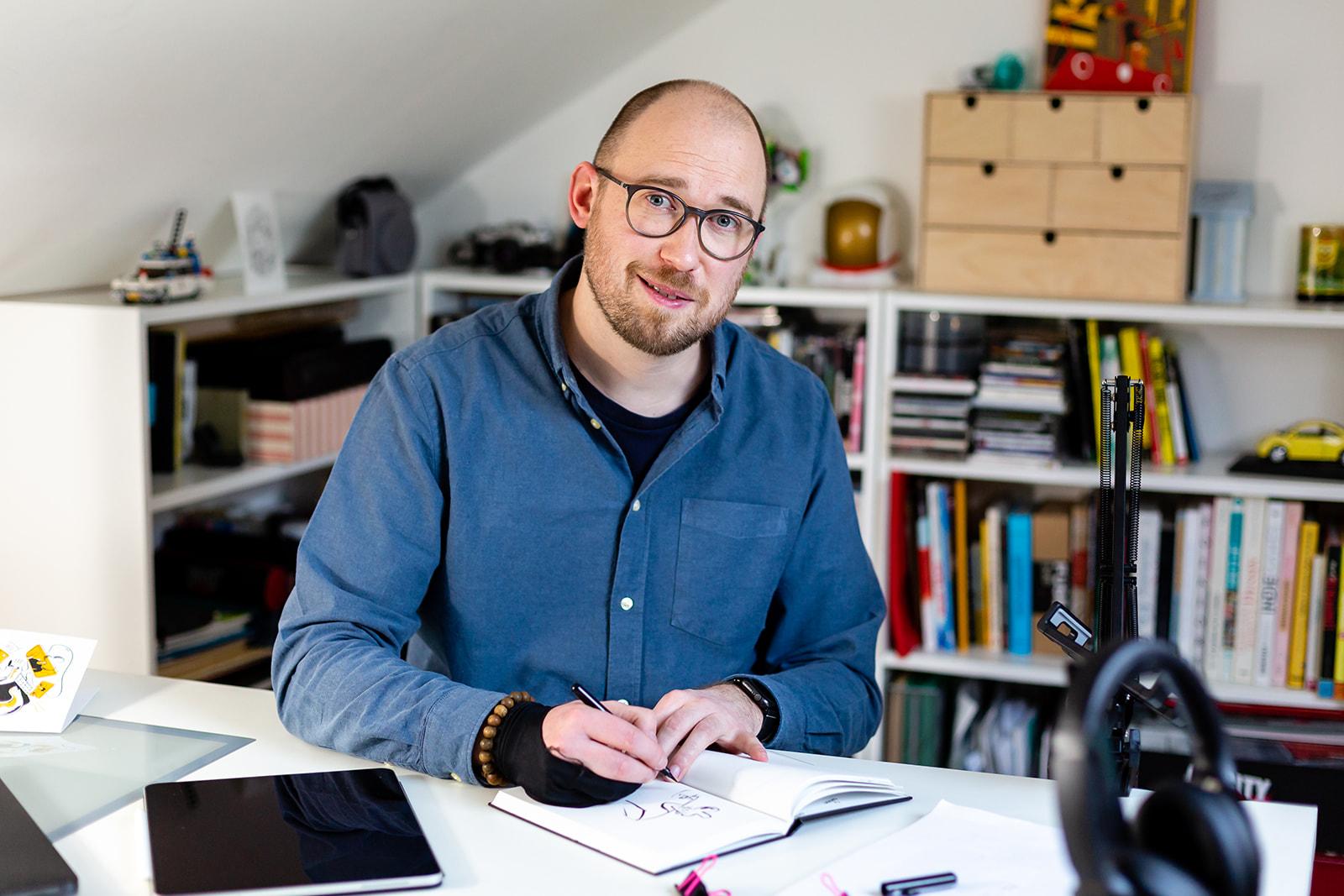 Samuel Markiewicz - illustrateur pour Silicon Salad