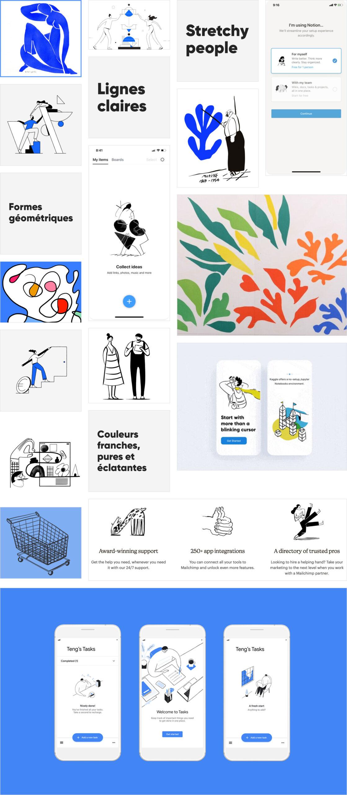Direction artistique illustrations Silicon Salad